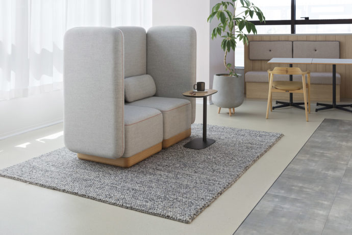 TOFFEE HIGHBACK 2seater